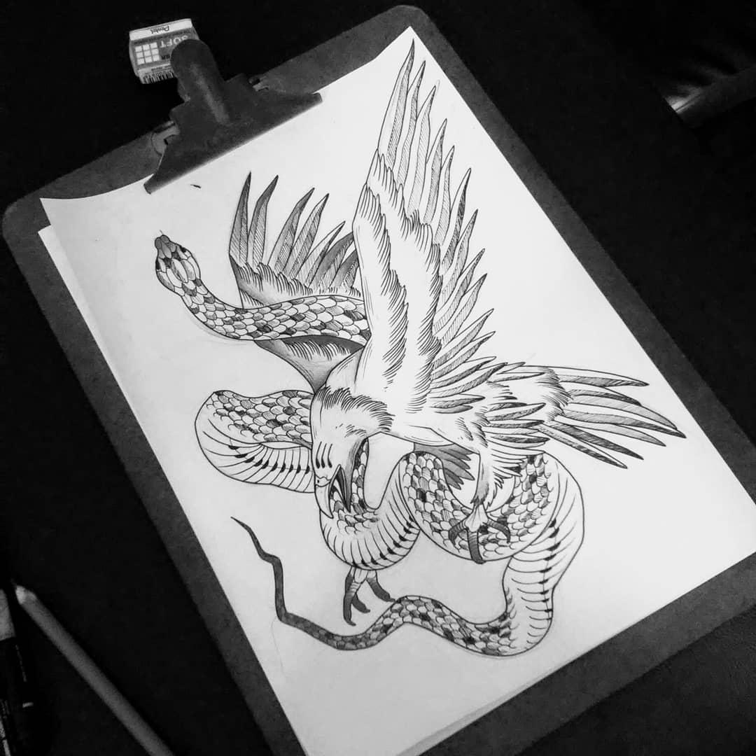 西安纹彩刺青    点击: 次         印第安美女纹身手稿图片